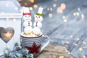 weihnachten Kakao glühwein