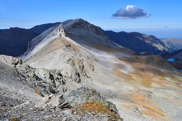 Архыз, Россия. Вид на перевал Агур со стороны перевала Федосеева