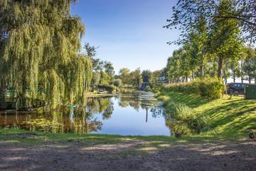 Polderlandschaft in Holland