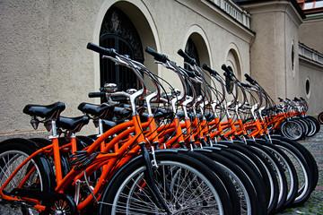 Bikes in series