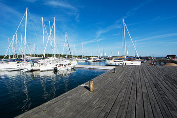 Marina Sandhamn in Sweden
