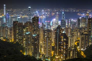 Hongkong night view