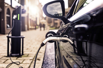 Electric car is changing on street parking in UK