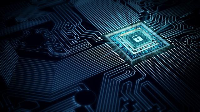 Internet Secure data processing concept