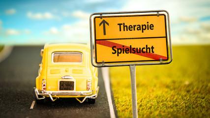Schild 355 - Therapie