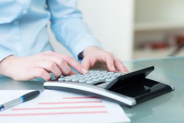 budget und finanzen werden berechnet