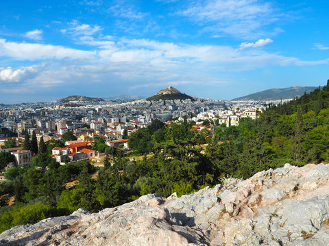 Athen - Stadtpanorama