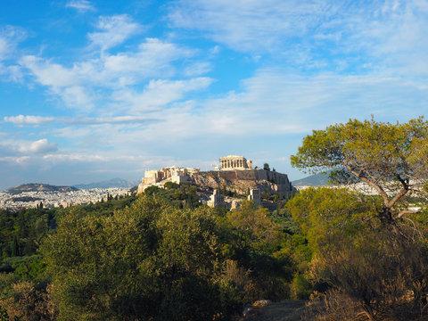 Ausblick auf die Akropolis - Athen