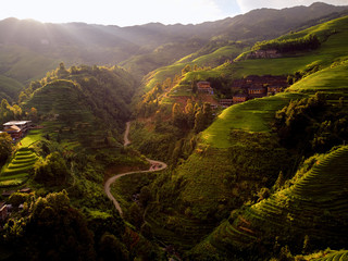 Longsheng Longji Guilin rice terraces