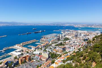 Gibraltar Stadt Hafen Port Meer Mittelmeer Urlaub