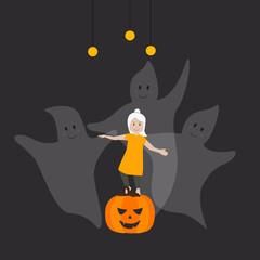 Halloween Gespenster