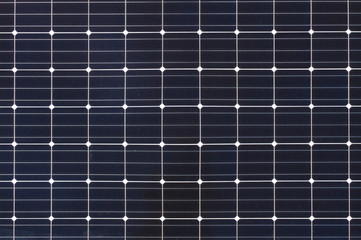 Square cells of solar panel