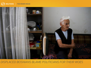 The Wider Image: Displaced Bosnians blame politicians for their woes