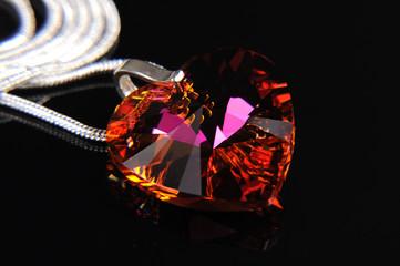 Biżuteria  wisiorek serce