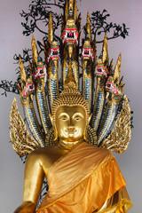 Buddha Sheltered by a Naga at Wat Pho