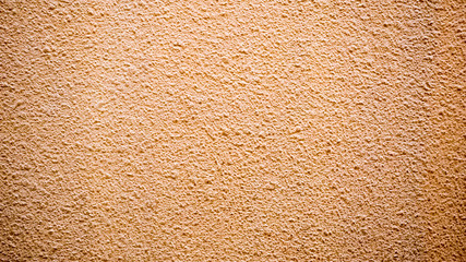 Wall Mural - Texture stain of plastered on orange cement wall, Surface  concrete wallpaper background