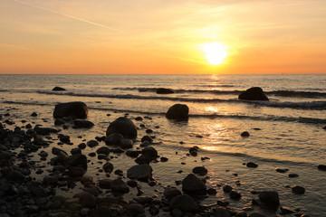 Konzept Seebestattung, Trauer, Abschied