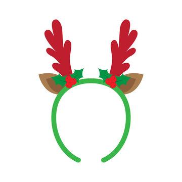 mask with reindeer antler