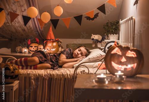 dreams in Halloween night