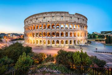 Poster Rome Kolosseum in Rom, Italien