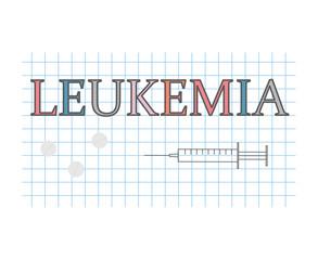 Pancreatitis word on checkered paper sheet- vector illustration