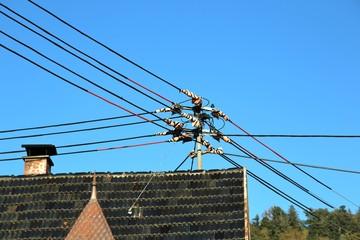 Alte Stromleitung