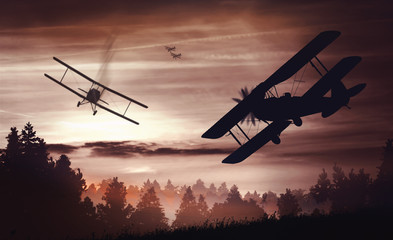 aerial battle first world war