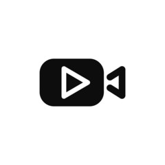Play video icon vector illustration eps10.