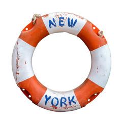 Retro New York Ferry Lifebuoy