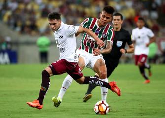 Copa Sudamericana - Brazil's Fluminense v Ecuador's Deportivo Cuenca