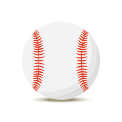 6767953 Vector cartoon baseball ball, American sport