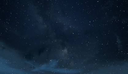 Deep space. Background texture. Realistic cosmos illustration.