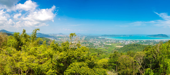 Panoramic view of  Phuket
