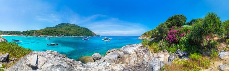 Obraz Racha (Raya) island, Thailand - fototapety do salonu