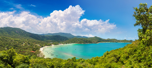 Beach on Koh Phangan island, Thailand