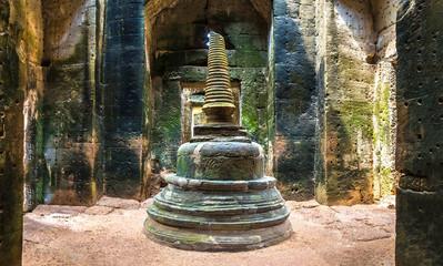 Preah Khan temple in Angkor Wat