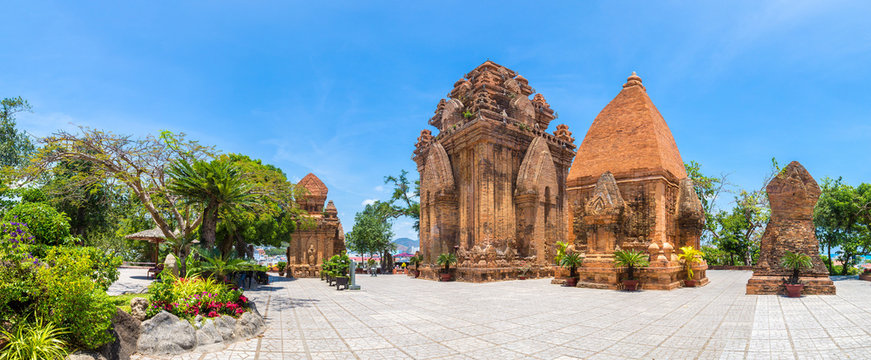 Ponagar Tower in Nha Trang, Vietnam