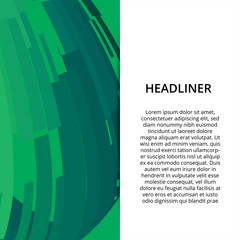 Abstract Modern Banner Background Design Vector Template