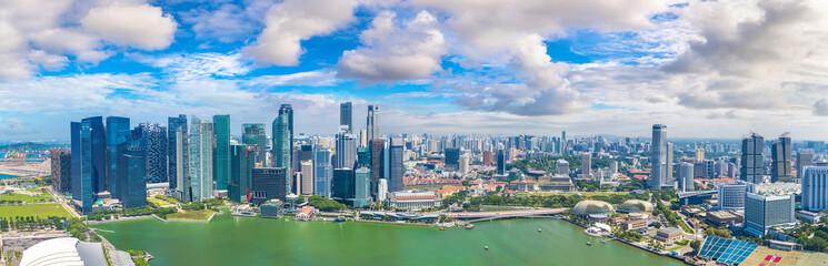 Foto op Plexiglas Singapore Panoramic view of Singapore