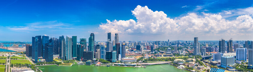 Foto op Canvas Aziatische Plekken Panoramic view of Singapore