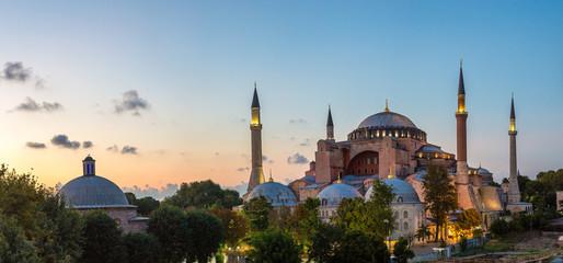 Wall Mural - Ayasofya Museum (Hagia Sophia) in Istanbul