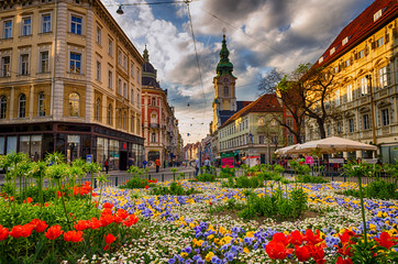 Graz city center