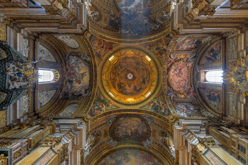 Church of the Gesu - Rome, Italy