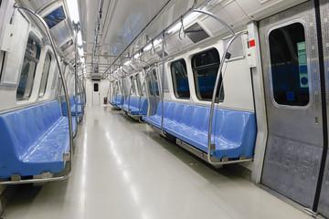 Subway Train Interior