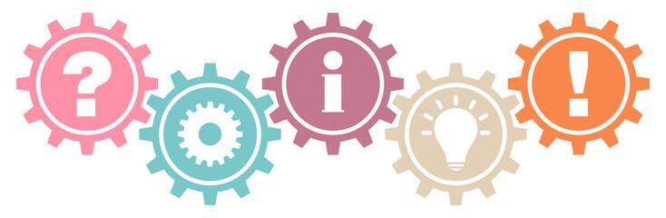 Gears Question, Work, Information, Idea & Answer Retro