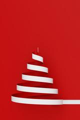 Weihnachten Hintergrund Karte mit Weihnachtsbaum