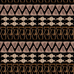 Tribal Navajo vector seamless pattern. Aztec fancy abstract geometric art print. ethnic hipster backdrop. Wallpaper, cloth design, fabric, paper, cover, textile, weave, wrapping.
