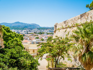 Rethymnon, Crete, Greece: The Venetian fortress Fortezza