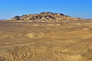 Fototapete - Sahara desert. Egypt