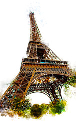 Eiffel tower scenes b